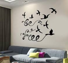 wall vinyl decal motivation quotes dom birds quote be