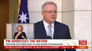 Coronavirus Australia: Scott Morrison ...