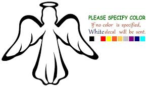 Modern Guardian Angel Vinyl Decal Car Sticker Window Truck Laptop Bumper 6 Ebay Car Decals Vinyl Vinyl Decals Car Stickers