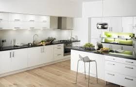 kitchen white modern cabinets