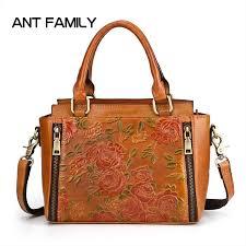 women genuine leather handbag