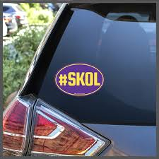 Nfl Minnesota Vikings Skol Decal Or Car Magnet