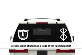 Berserk Band Of The Hawk Brand Of Sacrifice Symbol Vinyl Etsy