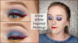 snow white inspired makeup saubhaya