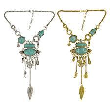pendant necklaces gold silver colors