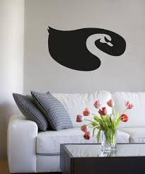 Vinyl Wall Decal Sticker Swan Design Os Aa1307 Stickerbrand