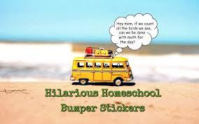 Homeschool Bumper Stickers Hifalutin Homeschooler