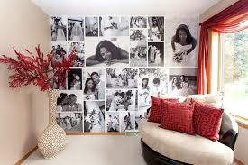 photo wall collage ideas without frames