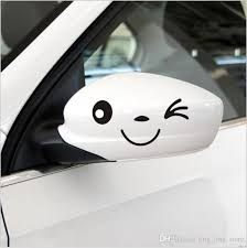 2020 2016 New Arrival Lovely Smile Face 3d Decal Cartoon Sticker Personalized Rear Mirror Reflective Sticker Car Styling For Optional From Ling Ling Store 0 16 Dhgate Com