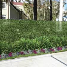 Fencescreen 6 Ft X 25 Ft L Hedge With Flower Graphic Pvc Chain Link Fence Screen In The Chain Link Fence Screens Department At Lowes Com