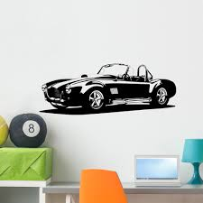 Classic Sport Silhouette Car Wall Decal By Wallmonkeys Peel And Stick Graphic 36 In W X 13 In H Wm204329 Walmart Com Walmart Com