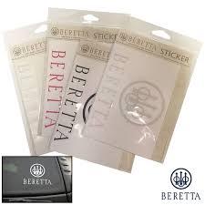 Beretta Window Decal Vinyl Set Of 4 Field Supply