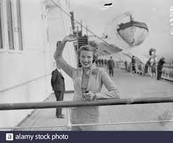Evelyn Laye (Mrs Frank Lawton) and Adele Dixon (Mrs Schwaiger), the musical  comedy actress, left Southampton on the Queen Mary to appear in a new  musical show in New York. Adele Dixon