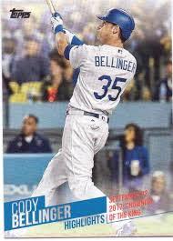 Topps Cody Bellinger Highlights #CB-22 ...