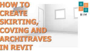 how to create skirting boards in revit