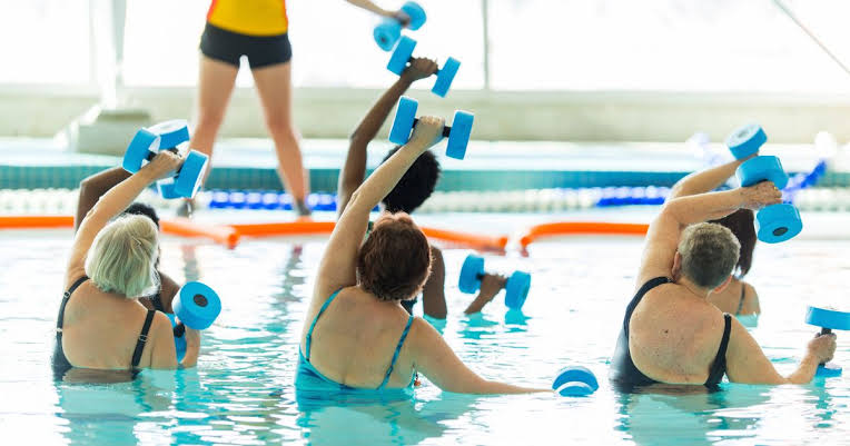 نتيجة بحث الصور عن Aquatic Therapy: Here's Why Water Power Works""