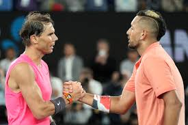 Nadal finds bliss in emotional win over Kyrgios at Australian Open ...