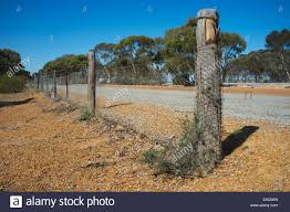 Rabbit Proof Fence High Resolution Stock Photography And Images Alamy