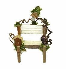 haunted fairy garden bench