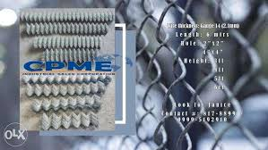 Cyclone Wire Construction Industrial Construction Building Materials On Carousell