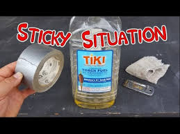 remove sticky tape residue glue