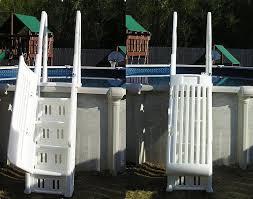 Neptune Deluxe Pool Step With Gate Ne115 Ne115t