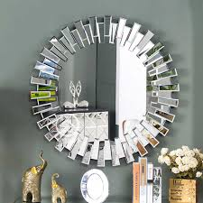 wall mirror vanity makeup glass console
