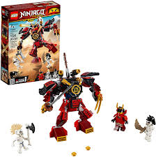 Amazon.com: LEGO NINJAGO Legacy Samurai Mech 70665 Toy Mech Building Kit  comes with NINJAGO Minifigures, Stud Shooters and a Toy Sword for  Imaginative Play (154 Pieces): Toys & Games