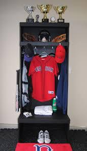 baseball lockers wood sports lockers