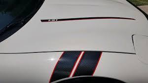 C5 Corvette 1997 2004 Hood Stripe Decals Pair Corvette Mods