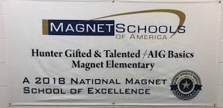 hunter magnet elementary homepage