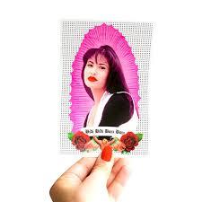 Selena Prayer Candle Vinyl Sticker The Five15