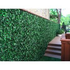 Greensmart Dekor 2 Ft H X 2 Ft W Artificial Ivy Fence Panel Reviews Wayfair
