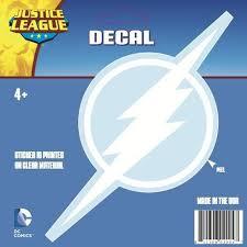 The Flash Logo Car Decal White Gaggifts Com