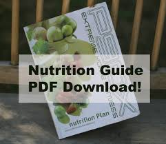 p90x menu and ping list e book now