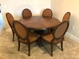 extendable dining table 6 chairs