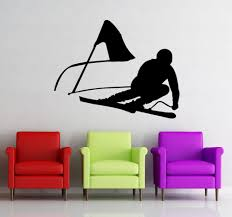 Removable Skiing Wall Decal Vinyl Skier Snow Freestyle Jumping Winter Wall Sticker For Living Room Home Decoration Bird Wall Decals Bird Wall Stickers From Onlybrand 12 21 Dhgate Com