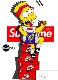 dope simpsons wallpapers top free