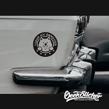 Funny Samoyed Sticker Cute Dog Pet Animal Decal Laptop Sticker Motorcycle Skateboard Funny Vinyl Stickers Car Window Reflective Waterproof 11x11cm Geeksticker