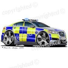Jaguar Xf Police Car Vinyl Wall Art Sticker Multi Ebay