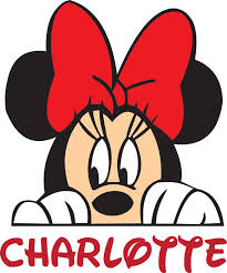 Personalized Name Vinyl Decal Sticker Custom Initial Wall Art Personalization Decor Girl Minnie Mouse Disney Cartoon Character 14 Inches X 14 Inches Walmart Com Walmart Com