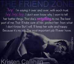 the friend zone game on by kristen callihan