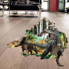 3d Wall Decals Dinosaur The Treasure Thrift