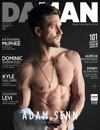 Adam Senn for DAMAN Magazine February/March 2016. :: WhyNot Blog