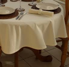dining room round tablecloth