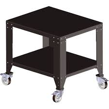 stable work table with castors for