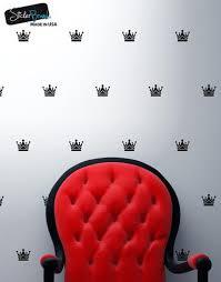 King S Crown Pattern Vinyl Wall Decal Sticker 6076 Stickerbrand