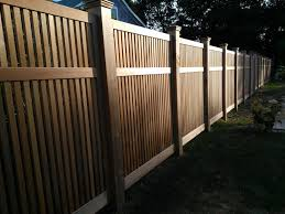 Custom Red Cedar Fence Panels By Tradecraft Custom Woodworking Custommade Com