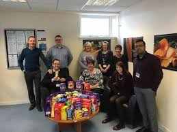 Young's staff in Easter Egg donation | The Fraserburgh Herald