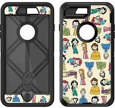 Amazon Com Skinit Decal Skin Compatible With Otterbox Defender Iphone 7 Plus Officially Licensed Disney Its A Princess Thing Design